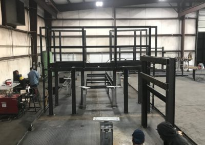 Structural Platform Fabrication