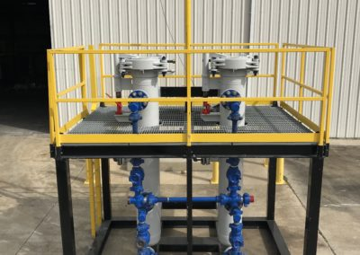 Wellhead Desanding Filter with Quick Opening Closures