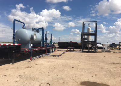 Four Phase Test Separator and 10,000 PSI ASME Cyclonic Sand Trap